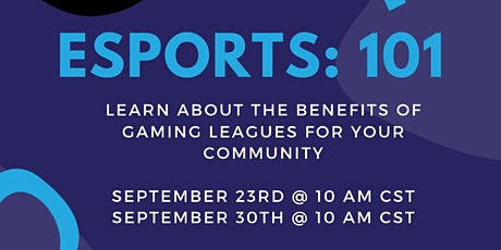 Esports 101 with GGLeagues tickets