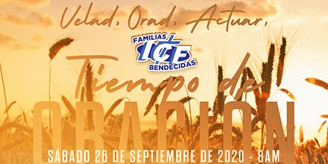 Tiempo de Oración - 26 de septiembre de 2020  - 8AM tickets