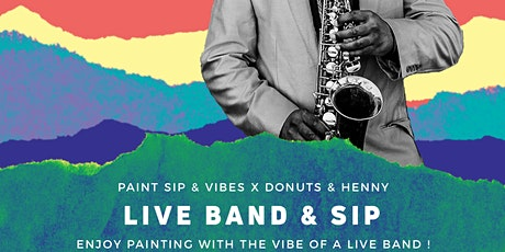 Live Band & Sip tickets