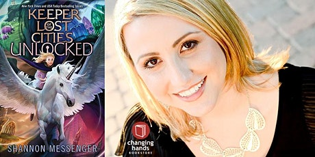 Shannon Messenger presents UNLOCKED, book 8.5 in Keeper of the Lost Cities tickets