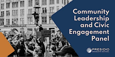 Community Leadership and Civic Engagement Panel tickets