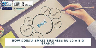 How does a small business build a big brand?