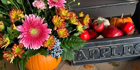 Fall Flower Arranging Workshop tickets