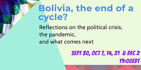 Bolivia, the end of a cycle? tickets