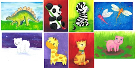 Learn to Draw Animals @12PM    Outdoor Class tickets
