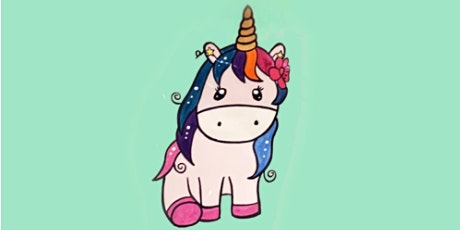Learn to Draw a Unicorn  @3PM    Outdoor Class tickets