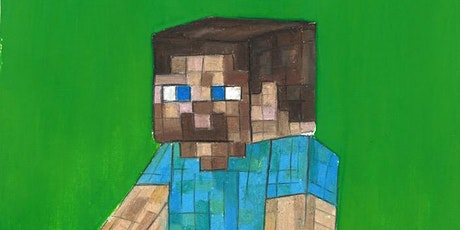 Learn to Draw Minecraft  @12PM  | Outdoor Class tickets