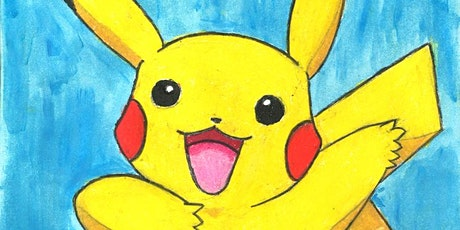 Learn to Draw Pikachu @1PM  | Outdoor Class tickets