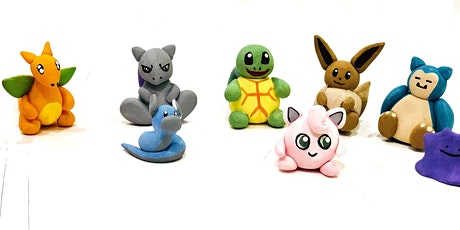 Learn to Sculpt Pokemon @1PM    Outdoor Class tickets