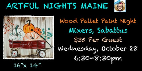Wood Pallet Paint Night at Mixers tickets