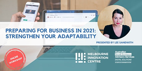 BRP: Prepare for Business in 2021: Strengthen your Adaptability tickets