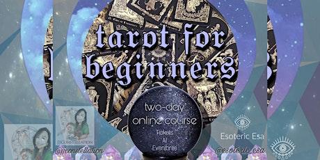 Tarot Course For Beginners December tickets