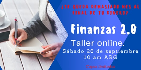 Taller on line Finanzas 2.0 boletos