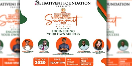 THE GENERATION NEXT YOUTH EMPOWERMENT SUMMIT 2020 (TGNYES) tickets