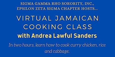 SGRho Epsilon Zeta Sigma Chapter hosts Virtual Jamaican Cooking Class tickets