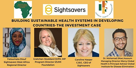 Building Sustainable Health Systems in Developing Countries-Investment Case tickets