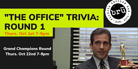 """""""The Office"""" Themed Trivia- Round 1 tickets"""