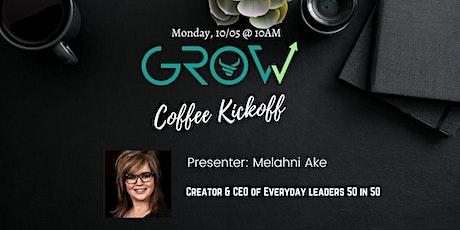 Coffee Kickoff - Melahni Ake tickets