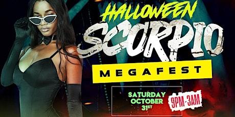 Halloween Day Scorpio Megafest tickets