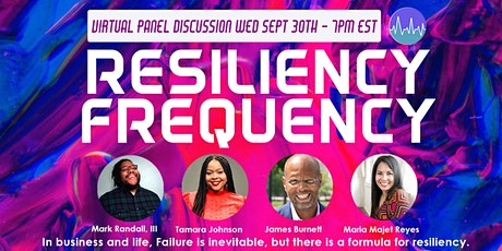 What's Your Resiliency Frequency in Entrepreneurship? tickets