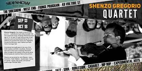 Sideshow Gyspy Jazz with the Shenzo Gregorio Quartet tickets