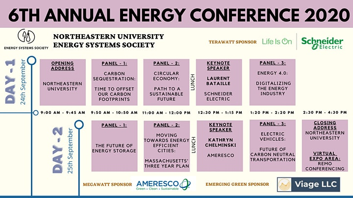 6th Annual Northeastern University Energy Conference 2020 image