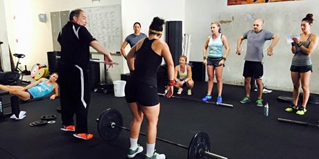 CrossFit RUA Cohen Olympic Weightlifting Seminar tickets