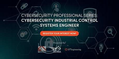 Cybersecurity Industrial Control Systems Engineer (28 – 30 September 2020) tickets