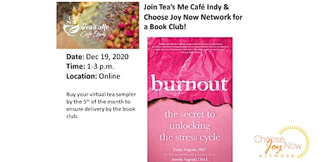 Tea Time: Book Club:Burnout by  Emily Nagoski & Amelia Nagoski tickets