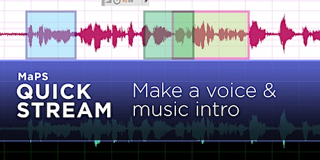 ZOOM WORKSHOP: Produce the Perfect Podcast Intro tickets