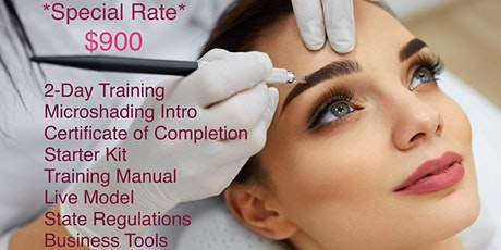 DAY MICROBLADING CERTIFICATE TRAINING tickets