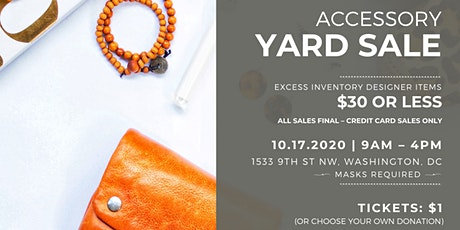 Dress for Success Yard Sale tickets