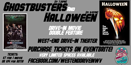 Ghostbusters & Halloween - Drive-In Movies tickets