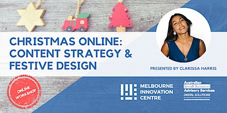 Christmas Online:  Content Strategy & Festive Design tickets