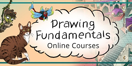 2021 Drawing Fundamentals - People & Character Design tickets