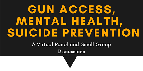 GVAW 2020: Panel and Group Discussions on Mental Health, Gun Access, and Su tickets