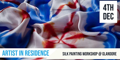 Silk Painting |Make your own Silk Scarf |  Artist in Residence tickets