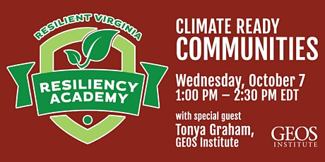 Climate Ready Communities tickets
