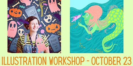 Curious Creatures Illustration Workshop - kids event tickets
