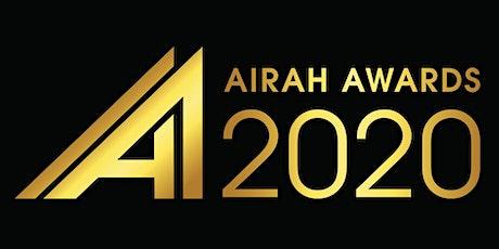 AIRAH Awards 2020 tickets