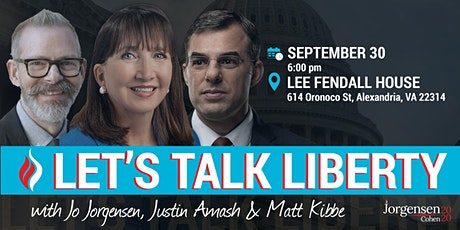 Let's Talk Liberty with Dr. Jo Jorgensen and Justin Amash tickets