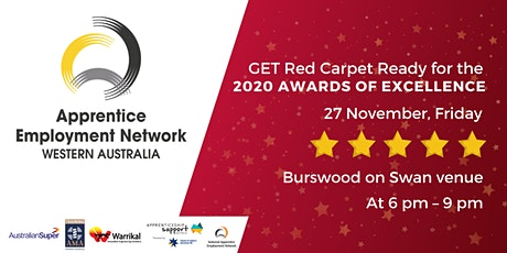 2020 Awards of Excellence 27 November tickets