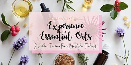 ONLINE: Essential oils - benefits & how to use them workshop tickets