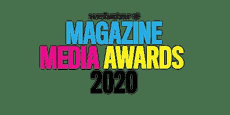 Webstar Magazine Media Awards 2020 tickets