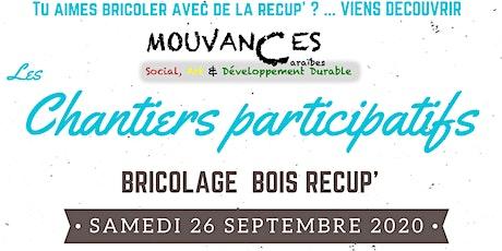 Les chantiers participatifs : Bricolage récup' billets