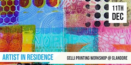Gelli Printing |  Artist in Residence tickets