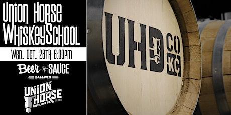 Union Horse WhiskeySchool