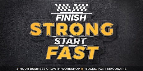 Finish Strong Start Fast tickets