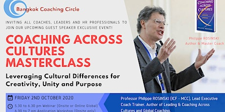 Coaching Across Cultures Master Class tickets