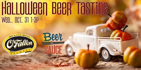 Halloween Beer Tasting